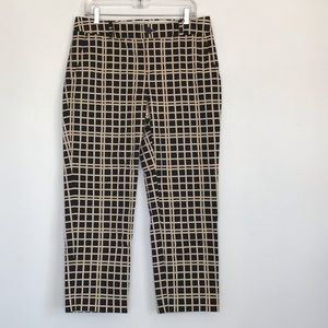 Banana Republic 10 Hampton cropped pant